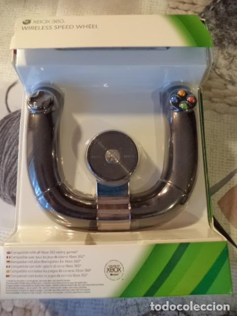 VOLANTE XBOX 360 NUEVO (Juguetes - Videojuegos y Consolas - Microsoft - Xbox 360)