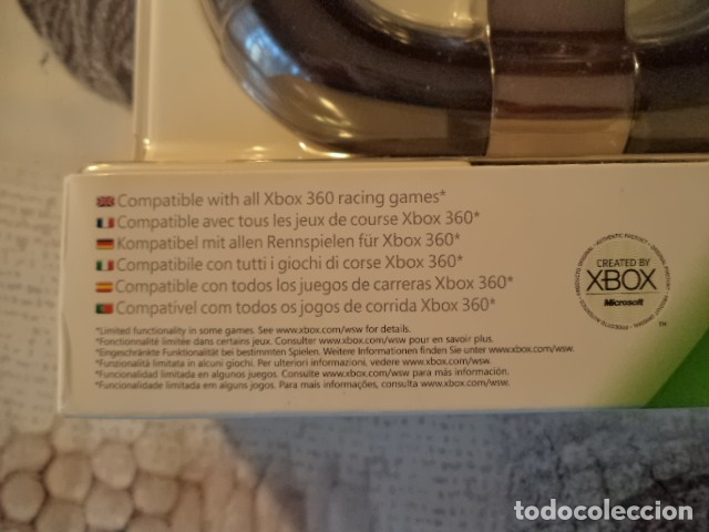 Videojuegos y Consolas: VOLANTE XBOX 360 NUEVO - Foto 3 - 181588696