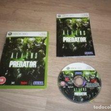 Videojuegos y Consolas: XBOX360 JUEGO ALIENS VS PREDATOR PAL. Lote 182878390