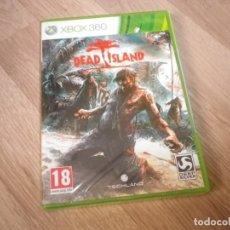 Videojuegos y Consolas: XBOX360 JUEGO DEAD ISLAND NUEVO PAL ESPAÑA. Lote 183062010