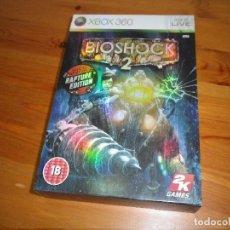 Videojuegos y Consolas: XBOX360 JUEGO BIOSHOCK2 RAPTURE EDITION PAL UK. Lote 183062560