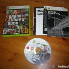 Videojuegos y Consolas: XBOX360 JUEGO GRAND THEFT AUTO IV COMPLETO VERSIÓN ESPAÑOLA. Lote 183062622