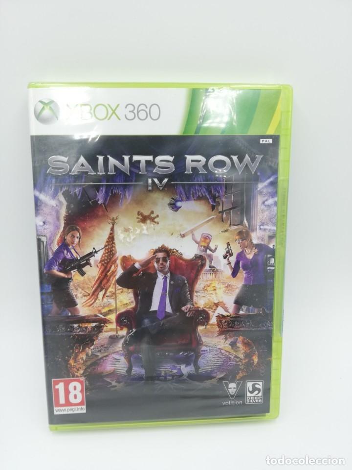 SAINTS ROW IV XBOX 360 NUEVO PRECINTADO (Juguetes - Videojuegos y Consolas - Microsoft - Xbox 360)