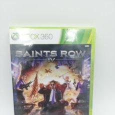 Videojuegos y Consolas: SAINTS ROW IV XBOX 360 NUEVO PRECINTADO. Lote 183077902