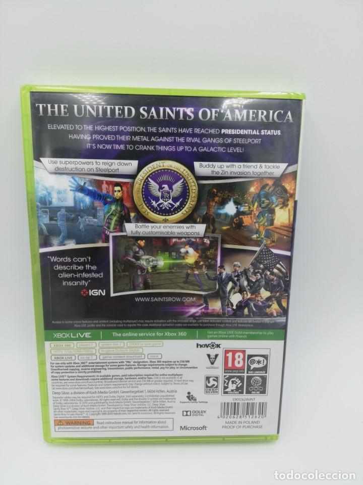Videojuegos y Consolas: SAINTS ROW IV XBOX 360 NUEVO PRECINTADO - Foto 2 - 183077902