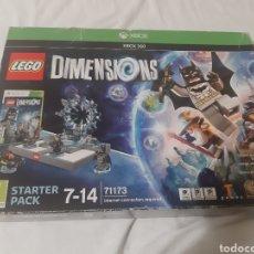 Videojuegos y Consolas: LEGO DIMENSIONS XBOX 360 STARTER PACK NUEVO SIN USAR PAL. Lote 183391536