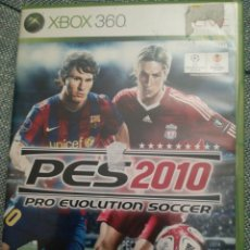 Videojuegos y Consolas: JUEGO PARA XBOX 360 PES 2010. Lote 183601342