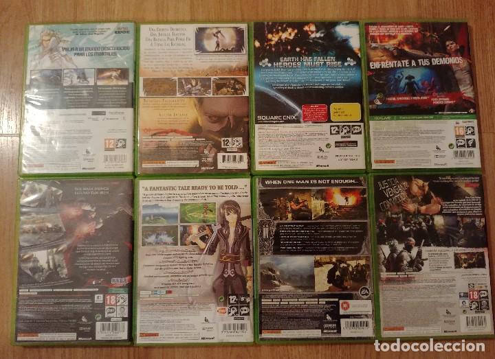 Videojuegos y Consolas: PACK LOTE 9 juegos XBOX 360, Bayonetta, Tales Vesperia, Army of Two, N3 - Foto 2 - 149296878