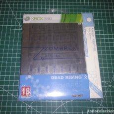 Videojuegos y Consolas: JUEGO XBOX 360 - DEAD RISING 2 EDICION ZOMBREX NUEVO PRECINTADO - PAL ESPAÑA. Lote 183861296