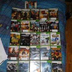 Videojuegos y Consolas: LOTE 32 JUEGOS XBOX 360. Lote 186412303