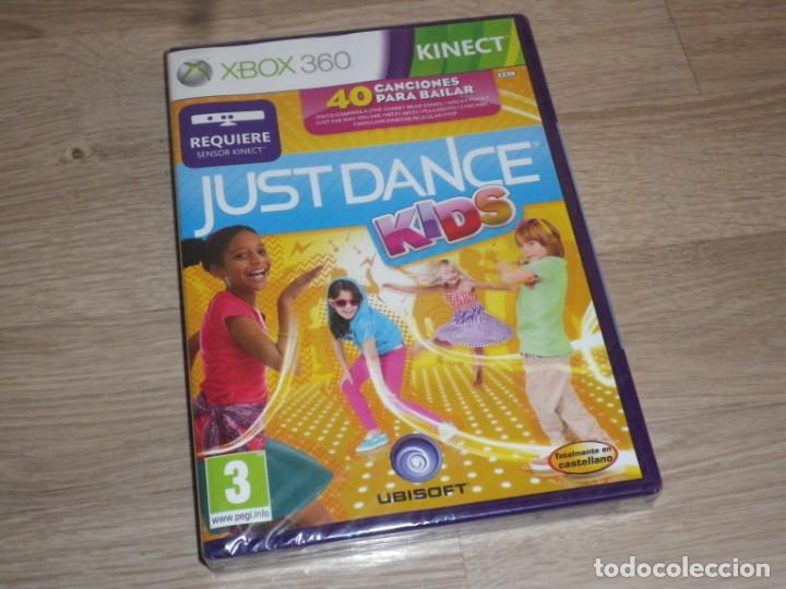 XBOX360 JUEGO JUST DANCE KIDS NUEVO VERSIÓN ESPAÑOLA (Juguetes - Videojuegos y Consolas - Microsoft - Xbox 360)