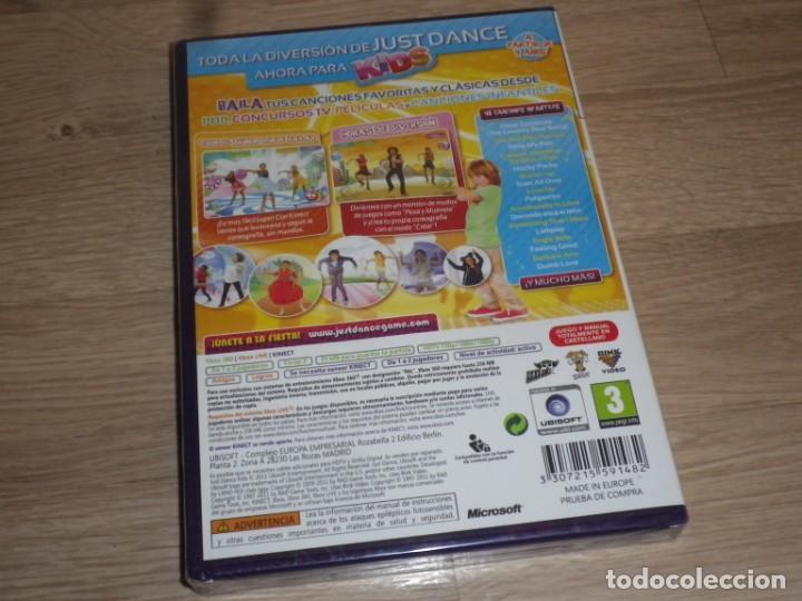 Videojuegos y Consolas: XBOX360 JUEGO JUST DANCE KIDS NUEVO VERSIÓN ESPAÑOLA - Foto 2 - 186419471