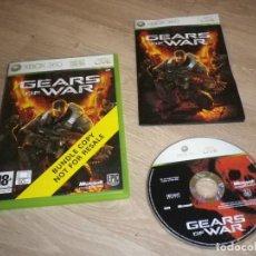 Videojuegos y Consolas: XBOX360 JUEGO GEARS OF WAR (CARATULA BUNDLE). Lote 186420853