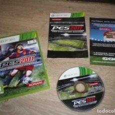 Videojuegos y Consolas: XBOX360 JUEGO PES 2011 PRO EVOLUTION SOCCER. Lote 186427882