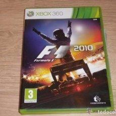 Videojuegos y Consolas: XBOX360 JUEGO FORMULA 1 2010 COMPLETO VERSIÓN ESPAÑOLA. Lote 186427960