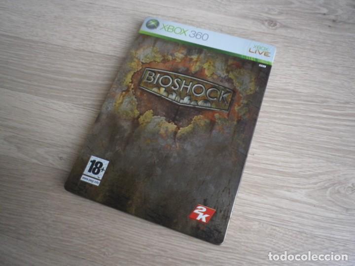 XBOX360 JUEGO BIOSHOCK CAJA METALICA VERSIÓN ESPAÑOLA (Juguetes - Videojuegos y Consolas - Microsoft - Xbox 360)