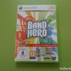 Videojuegos y Consolas: BAND HERO XBOX 360. Lote 187171078