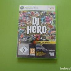 Videojuegos y Consolas: DJ HERO XBOX 360. Lote 187171510