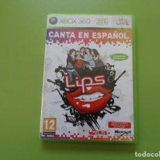Videojuegos y Consolas: LIPS CANTA EN ESPAÑOL XBOX 360. Lote 187186632