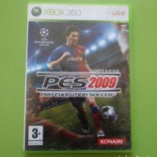 Videojuegos y Consolas: PRO EVOLUTION SOCCER 2009 PES XBOX 360. Lote 187187751