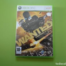 Videojuegos y Consolas: WANTED XBOX 360. Lote 187188526