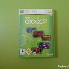 Videojuegos y Consolas: XBOX LIVE ARCADE XBOX 360. Lote 187188648
