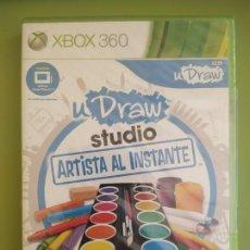 Videojuegos y Consolas: UDRAW STUDIO ARTISTA AL INSTANTE XBOX 360 PRECINTADO. Lote 188461667