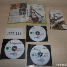 Videojuegos y Consolas: XBOX360 - FINAL FANTASY XIII , PAL ESPAÑOL , COMPLETO. Lote 188654750