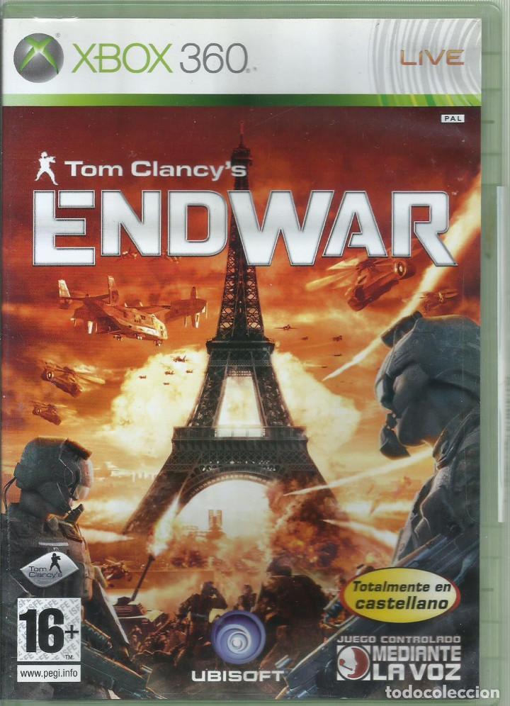 TOM CLANCY'S ENDWAR CASTELLANO (Juguetes - Videojuegos y Consolas - Microsoft - Xbox 360)