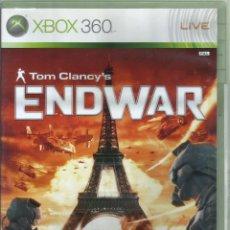 Videojuegos y Consolas: TOM CLANCY'S ENDWAR CASTELLANO. Lote 189412447