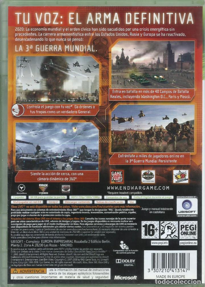 Videojuegos y Consolas: Tom Clancys EndWar Castellano - Foto 2 - 189412447