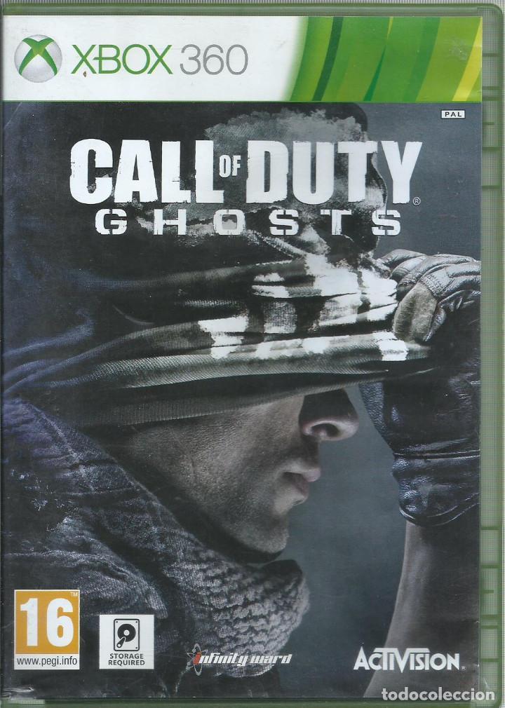 CALL OF DUTY: GHOSTS (CARATULA EN INGLES, JUEGO EN CASTELLANO) (Juguetes - Videojuegos y Consolas - Microsoft - Xbox 360)