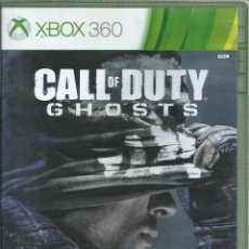 Videojuegos y Consolas: CALL OF DUTY: GHOSTS (CARATULA EN INGLES, JUEGO EN CASTELLANO). Lote 189430520