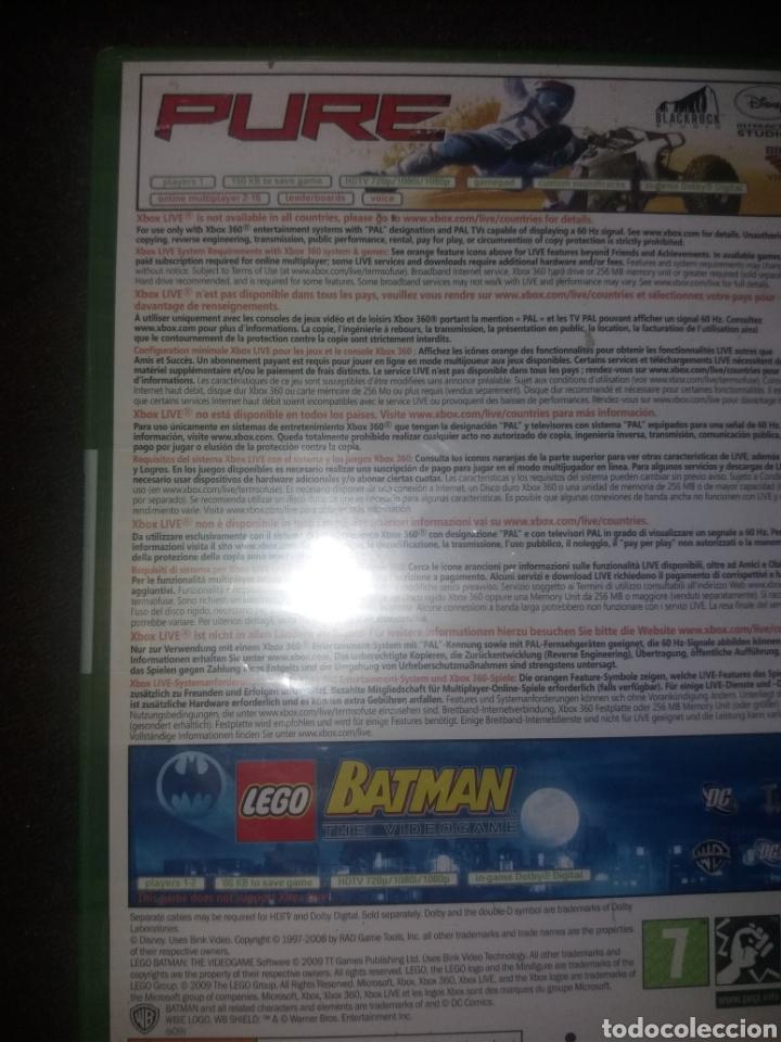 Videojuegos y Consolas: PURE/ LEGO BATMAN NUEVO A ESTRENAR SIN ABRIR - Foto 3 - 190067106