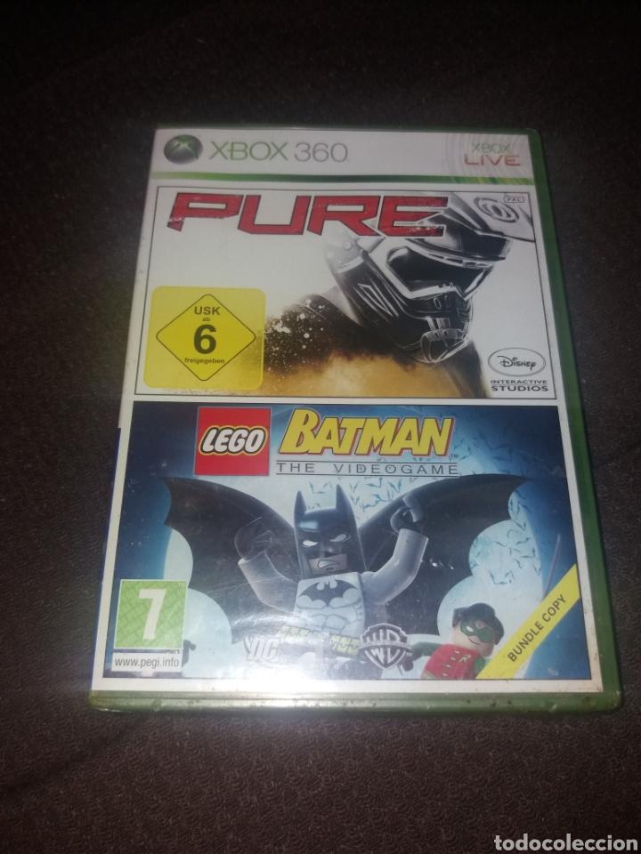 PURE/ LEGO BATMAN NUEVO A ESTRENAR SIN ABRIR (Juguetes - Videojuegos y Consolas - Microsoft - Xbox 360)