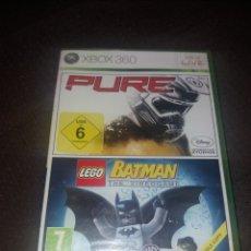 Videojuegos y Consolas: PURE/ LEGO BATMAN NUEVO A ESTRENAR SIN ABRIR. Lote 190067106