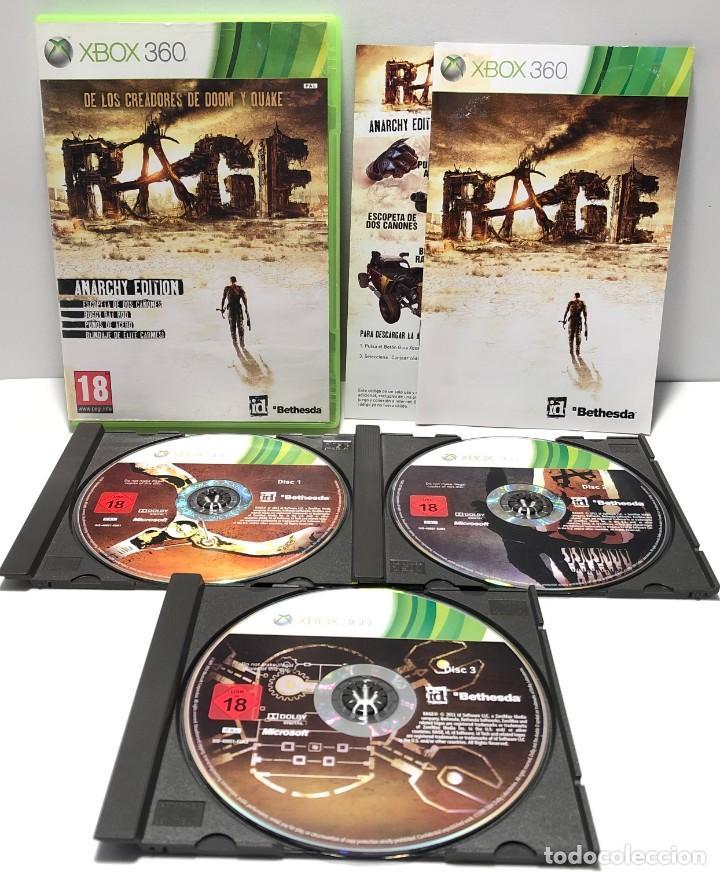RAGE ANARCHY EDITION XBOX 360 (Juguetes - Videojuegos y Consolas - Microsoft - Xbox 360)