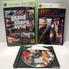 Videojuegos y Consolas: GRAND THEFT AUTO EPISODES FROM LIBERTY CITY XBOX 360. Lote 190504613