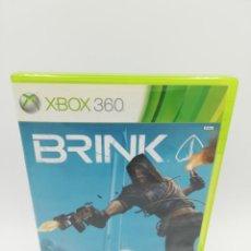 Videojuegos y Consolas: BRINK XBOX 360 . Lote 190526080