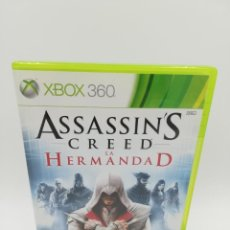 Videojuegos y Consolas: ASSASSINS CREED LA HERMANDAD XBOX 360 . Lote 190526128