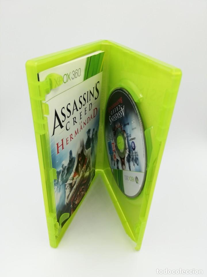 Videojuegos y Consolas: ASSASSINS CREED LA HERMANDAD XBOX 360 - Foto 2 - 190526128