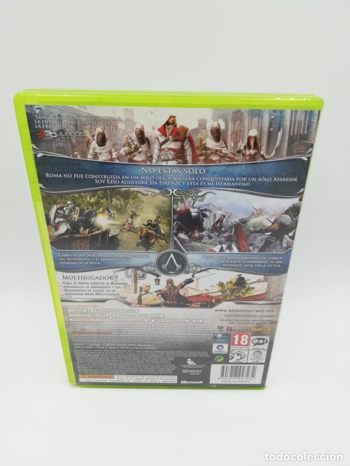 Videojuegos y Consolas: ASSASSINS CREED LA HERMANDAD XBOX 360 - Foto 3 - 190526128