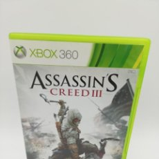 Videojuegos y Consolas: ASSASSINS CREED 3 XBOX 360. Lote 190526197