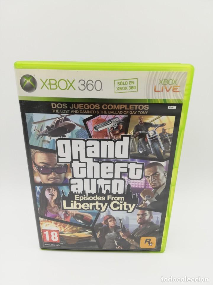 GRAND THEFT AUTO EPISODES FROM LIBERTY CITY XBOX 360 (Juguetes - Videojuegos y Consolas - Microsoft - Xbox 360)