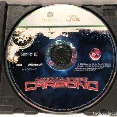Videojuegos y Consolas: NEED FOR SPEED CARBONO XBOX 360. Lote 190590130