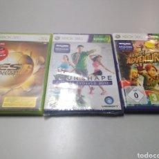 Videojuegos y Consolas: LOTE 3 JUEGOS XBOX 360 PRO PES KINECT. Lote 190646448