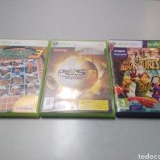 Videojuegos y Consolas: LOTE 3 JUEGOS XBOX 360 PRO PESTENNIS Y KINECT. Lote 190646763