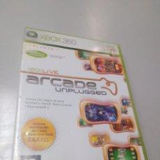 Videojuegos y Consolas: XBOX 360 ARCADE UNPLUGGED. Lote 190783373