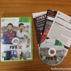 Videojuegos y Consolas: FIFA 12 -JUEGO XBOX 360- EA SPORTS LFP FIFA12 XBOX360. Lote 191136613