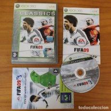 Videojuegos y Consolas: FIFA 09 -JUEGO XBOX 360- EA SPORTS LFP FIFA09 XBOX360 9. Lote 191136661